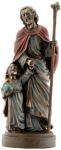 Christian Statues Joseph And Jesus - Bronze Finish