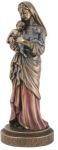Christian Statues Mary W/ Jesus And Lamb Statue