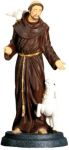 Christian Statues St. Francis Of Assisi Statue