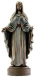 Christian Statues - Virgin Mary - Bronze Finish