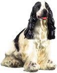 Dog Breed Statues English Springer Spaniel Dog Figurine Statue - Large