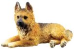 Dog Breed Statues German Shepherd Puppy Dog Figurine Statue