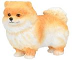 Dog Breed Statues Pomeranian Puppy Dog Figurine Statue