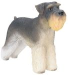 Dog Breed Statues Schnauzer - Small Dog Figurine Statue