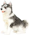 Dog Breed Statues - Siberian Husky Puppy