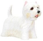 Dog Breed Statues - West Highland Terrier - Small