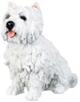 Dog Breed Statues West Highland Terrier Dog Figurine Statue