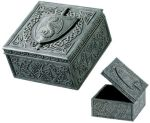 Dragon Shield Hinge Jewelry Box