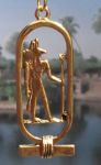 Egyptian Jewelry Anubis Cartouche Jewelry Pendant