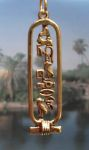 Egyptian Jewelry Cleopatra Cartouche Jewelry Pendant