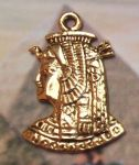 Egyptian Jewelry Cleopatra Portrait Jewelry Pendant