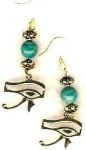 Egyptian Jewelry Eye Of Horus Egyptian Earrings