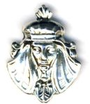 Large Egyptian Pharaoh Pendant