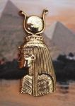 Large Egyptian Goddess Isis Pendant