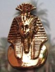 Egyptian Jewelry Large King Tut Mask Egyptian Jewelry Pendant