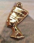 Egyptian Queen Nefertiti Bust Pendant - Large