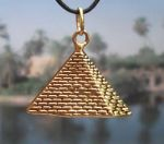 Egyptian Jewelry Medium Pyramid Of Cheops Egyptian Jewelry Pendant