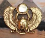 Egyptian Royal Pharaohs Scarab Pendant