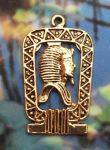 Egyptian King Tut Shenu Pendant