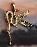 Egyptian Jewelry Uadjet - Sacred Cobra Jewelry Pendant