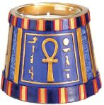 Ancient Egyptian Lg Ankh Votive Candle Holder