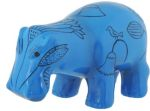 Ancient Egypt - Blue Hippo Statue
