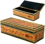 Ancient Egyptian Hieroglyph Long Jewelry Box