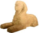 Ancient Egyptian Large Egyptian Sphinx Statue