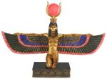 Ancient Egyptian Large Winged Egyptian Isis Statue