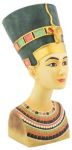 Ancient Egyptian Medium Queen Nefertiti Statue