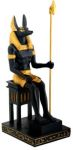 Ancient Egyptian Sitting Egyptian Anubis Statue