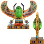 Ancient Egypt - Winged Scarab Statue