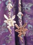 Fairy Fantasy Earrings - Aurora Borealis Crystal