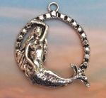 Mermaid Hoop Pendant