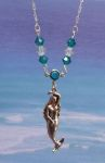 Fairy Jewelry Sea Maiden Necklace With Swarovski Crystal
