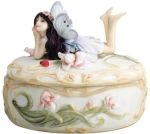 Daydreaming Fairy Jewelry Box - Trinket Box