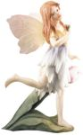 Iris The Fairy With Translucent Wings Statue