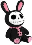 Furry Bones Black Bun-bun Bunny Plush Toy