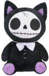 Furry Bones Black Mao-mao Cat Plush Toy