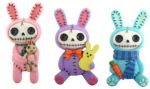 Furry Bones Bun-bun Bunny Magnets (Set of 6)