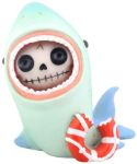 Furry Bones Sharkie Shark Figurine