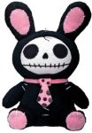 Furry Bones Small Black Bun-bun Bunny Plush Toy