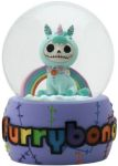 Furry Bones Unie Unicorn Water Globe