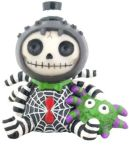 Furry Bones Webster Spider Figurine