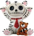 Furry Bones White Tigrrr Tiger Figurine