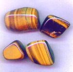 Golden Tiger-eye Tumbled Stone Crystal