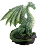 Green Dragon On Rock Statue