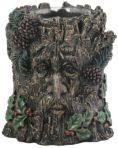 Green Man Holder Winter