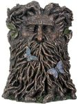 Green Man Pen Holder