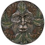 Green Man Plaque - Summer